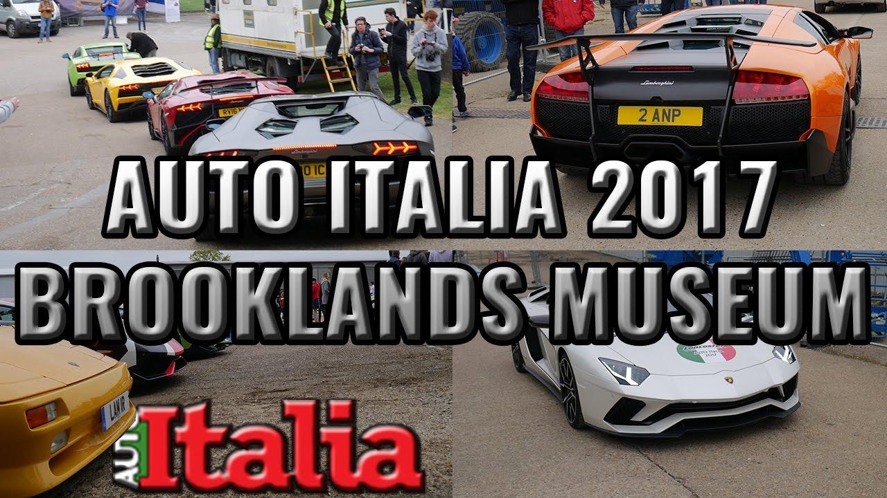 Auto Italia Brooklands Italian Car Show YouTube - Italian car show