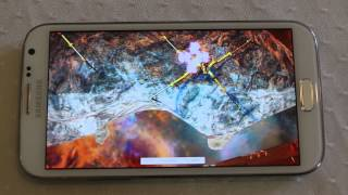 3DMark Android Ice Storm extreme Galaxy Note 2 Benchmark results