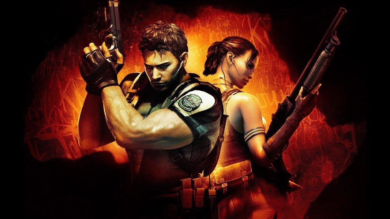 Проходим Resident Evil 5 SplitScreen #1 (27 июн. 2020 г)