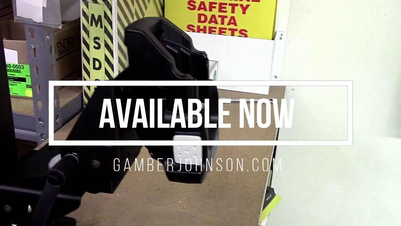 Gamber-Johnson's Cradle for the Panasonic FZ-F1/N1