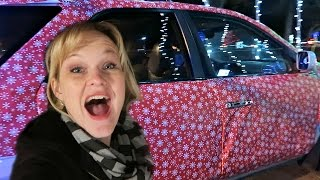 🎁GIFT WRAPPING OUR CAR!🚗