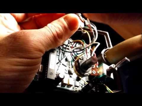 Tesoro metal detector routine maintenance
