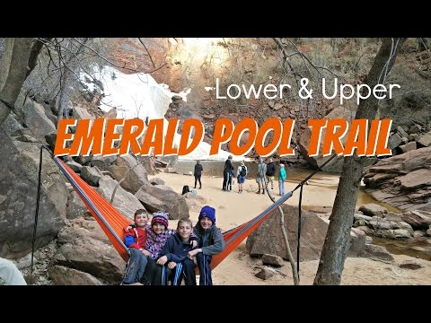 Emerald Pool Trail | THE BEST Zion Hikes For Families | Travel Diary