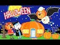 Lion Family Halloween Magic creates Wonders Cartoon for Kids