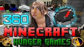 Minecraft: Hunger Games w/Mitch! Game 360 - TOO MANY PEOPLE!