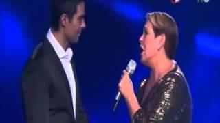Lupita DAlessio a dueto con Ernesto DAlessio - Acariciame YouTube Videos