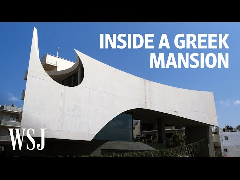 Inside a Greek Home Designed With Cuts to Filter the Sun | WSJ Mansion