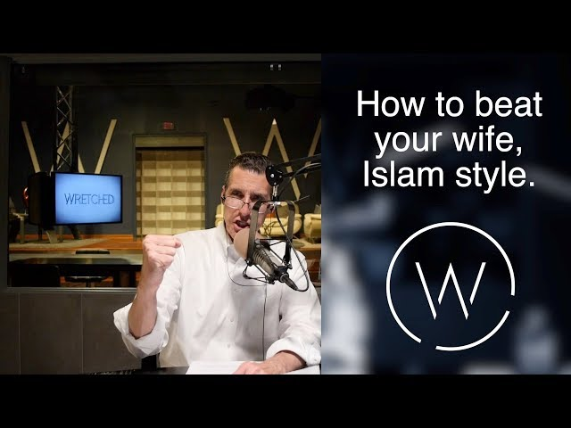 How to beat your wife, Islam style.