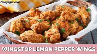 Wingstop Lemon Pepper Wings