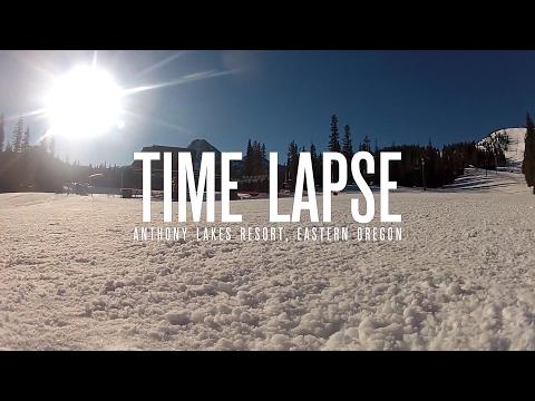 Time Lapse - Anthony Lakes, Eastern Oregon  - GoPole Base & Scenelapse