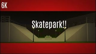 ROBLOX | Welcome to Bloxburg: Skate Park!!
