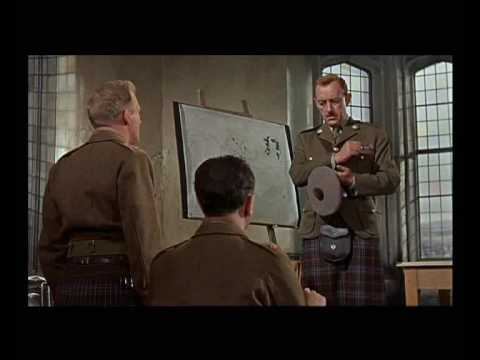 alec guinness as col jock sinclair, tunes of glory