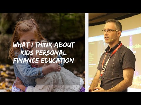 What I Think About Kids Personal Finance Education