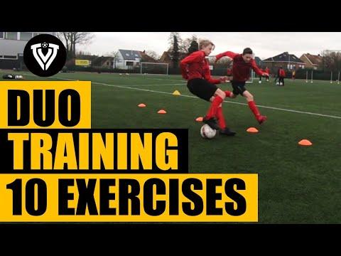 10 Duo Exercises | Football Training | Thomas Vlaminck