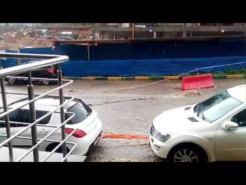 Потоп в центре Нижнего Новгорода 06.07.2017