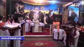 بالفيديو والصور.. الأقباط يحتفلون بقداس عيد الميلاد بكنيسة النبى موسى ومارى مرقس بجنوب سيناء