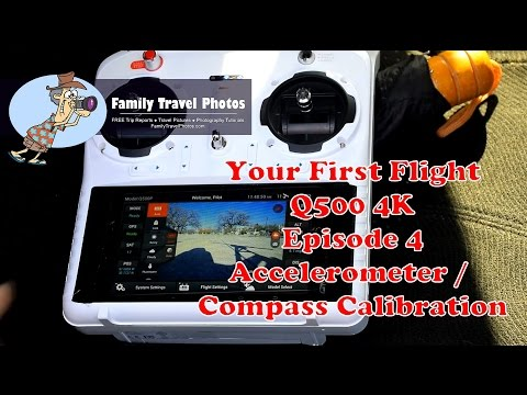Episode 4: How to Calibrate the Yuneec Q500 4K - Accelerometer and Compass Calibrations