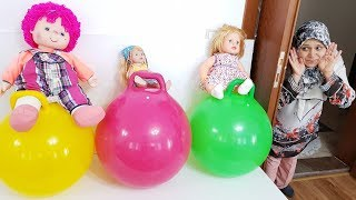 Ayşe's New TOYS, And Happy Babies, Fun Toy Videos