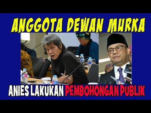 Anggota Dewan Murka, Anies Lakukan Pembohongan Publik Soal Pergub TGUPP!