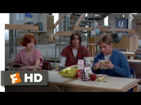 The Breakfast Club (6/8) Movie CLIP - Lunchtime (1985) HD