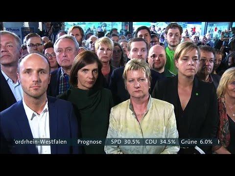 Wahlen NRW 2017 Hochrechnungen und Reaktionen live im ARD