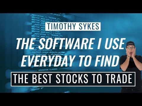 The Software I Use Everyday To Find The Best Stocks To Trade