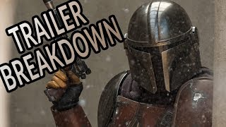 THE MANDALORIAN Trailer Breakdown, Plot Details, and More!