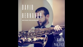 Christian Lauba: Clouds (Etude 17). Alto saxophone and CD. David Hernando Vitores. HARIA Project.