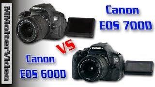 Canon EOS 600D VS EOS 700D Videoqualität im Vergleich  /  MMolterVideo