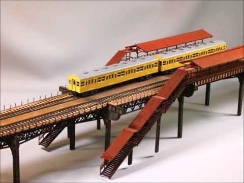 Building The Chicago Elevated Train Kit And Display