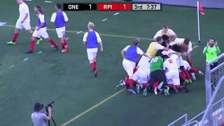 Men's Soccer vs. Oneonta Highlights