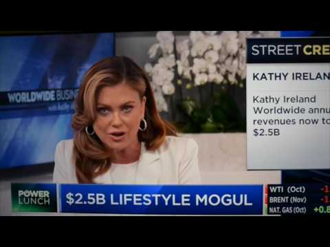 Power Lunch with Kathy Ireland and Marcus Lemonis