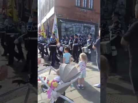 East Belfast protestant boys 12th of july 2017