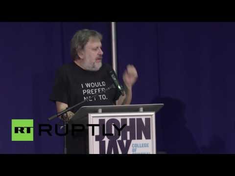 USA: Zizek heckled at Left Forum over stance on refugee crisis