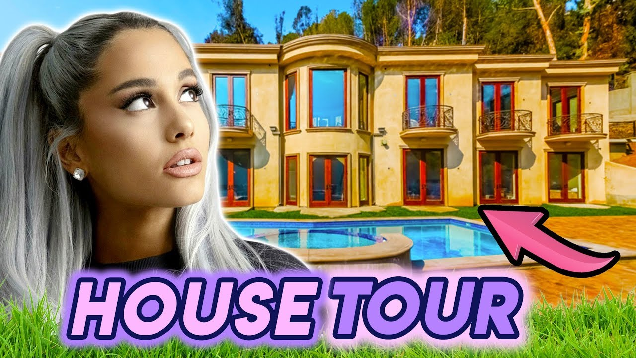 Ariana Grande A Look Inside Her Mansion 2019 House Tour Youtube
