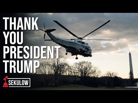 Thank You President Trump