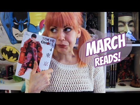 Comic & Graphic Novel Reviews | March 2017 Wrap Up!