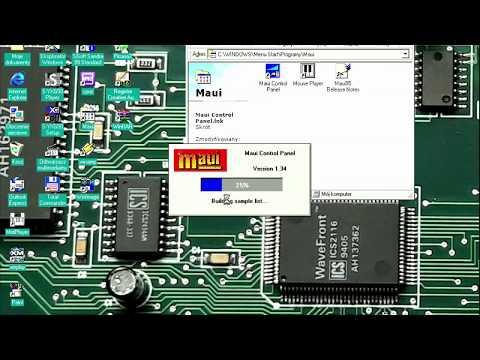Turtle Beach Mau music card, some test, PC Pentium III 500, position correction