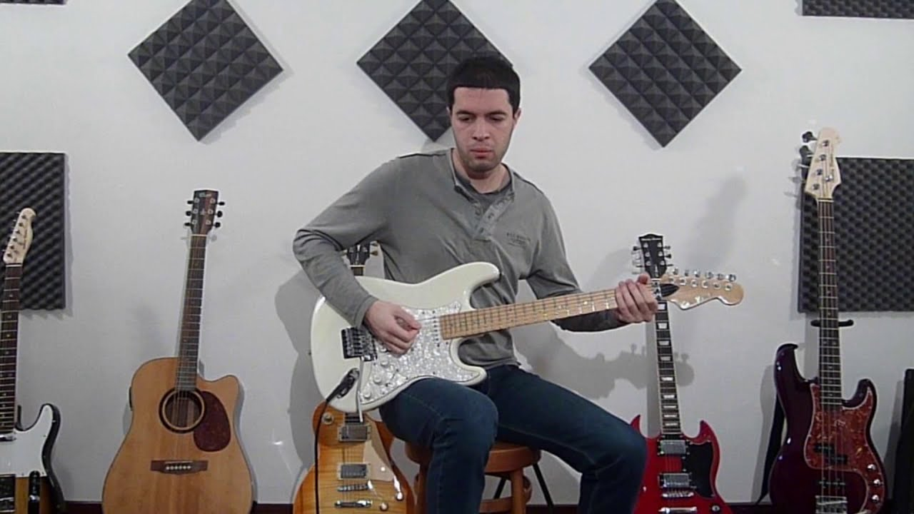 Dokken - Mr Scary (Guitar Tutorial) - YouTube