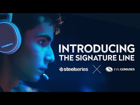 Introducing the SteelSeries ✕ Evil Geniuses Signature Line