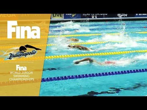 LIVE - Day 2 / Heats - FINA World Junior Swimming Championships