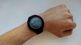Новинка 2018 Тактические часы Skmei 1405 SOLAR с солнечной панелью обзор, настройка, инструкция,