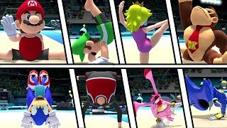 Mario and Sonic at the Olympic Games Tokyo 2020 - Gymnastics ( All Characters)