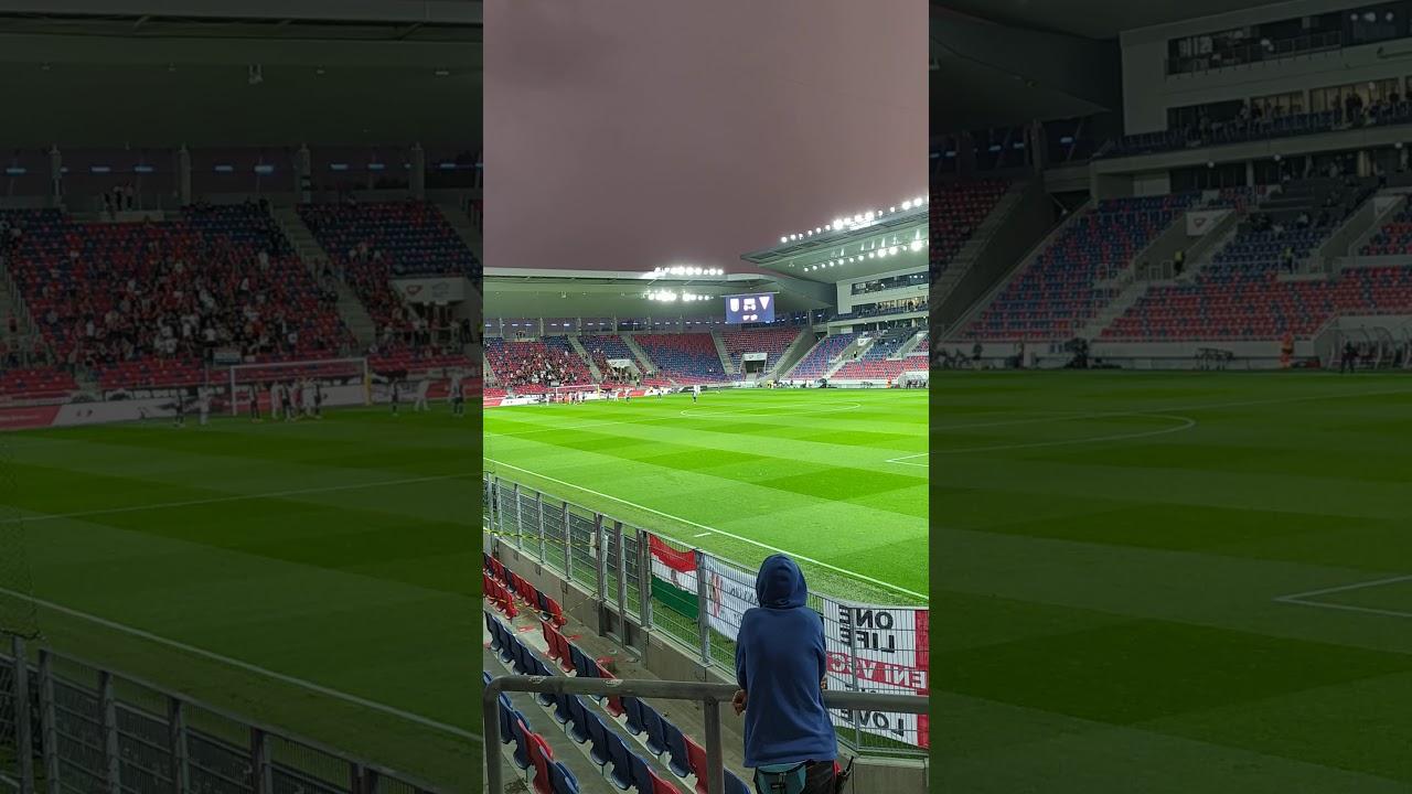 MOL Fehérvár FC-DVSC 1-0 Futács Márkó gólja (1-0) - YouTube