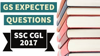 Expected GS/GK Question for SSC CGL 2017