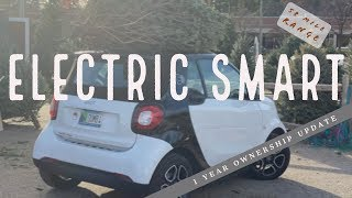 One Year w/ the Electric Smart! My favorite car...