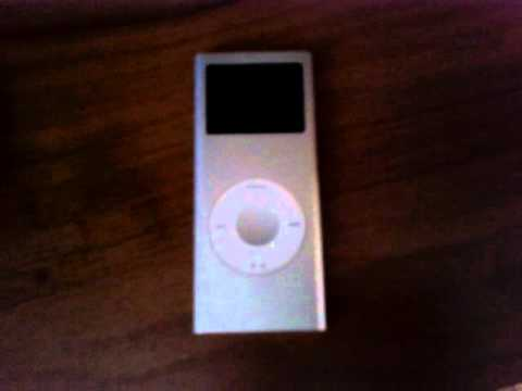 How to reset your Ipod nano first generation