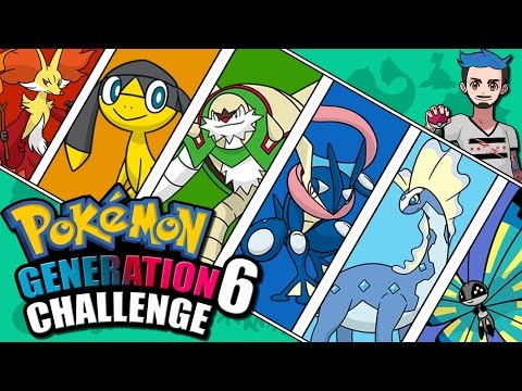 GENERATION 6 CHALLENGE | Pokémon Kalos Naming Challenge