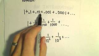 Writing a Geometric Series using Sigma / Summation Notation