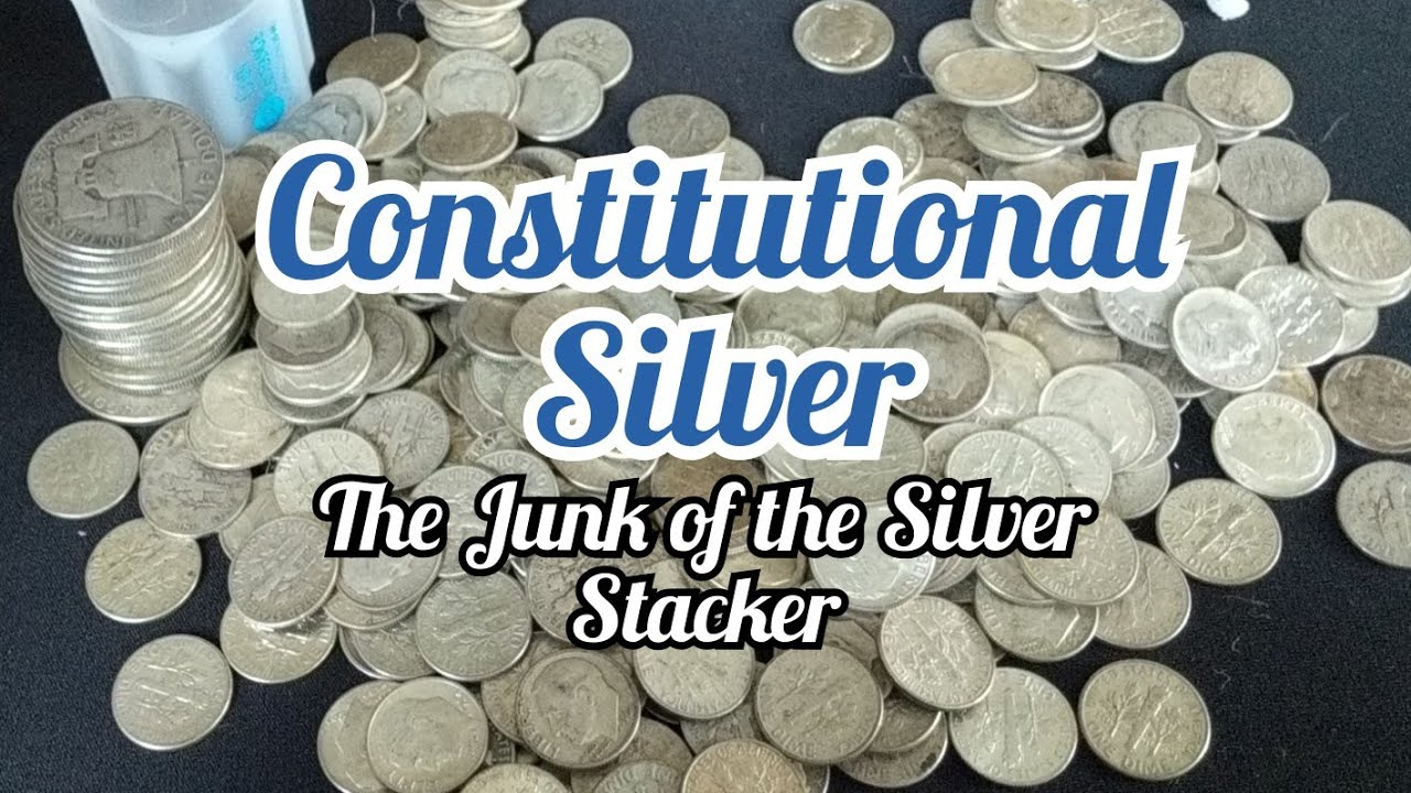 Constitutional Silver, the best silver buy out there  Unboxing junk silver  under spot price